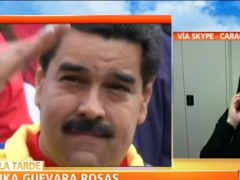"Amnesty Americas Director Erika Guevara-Rosas has urged the Trump administration to ""monitor"" the devastating impact of its illegal economic sanctions on Venezuela. (Youtube)"